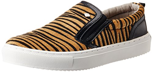 British Knights Women's Chip Brown Tiger And Black Sneakers