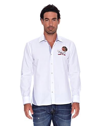 Signore Dei Mari Camicia Uomo Lucca [Bianco]