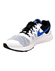 Nike Men's Air Zoom Elite White And Blue Running Shoes