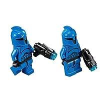 Lego Star Wars Senate Commando Trooper Minifigures (set of 2) with blasters
