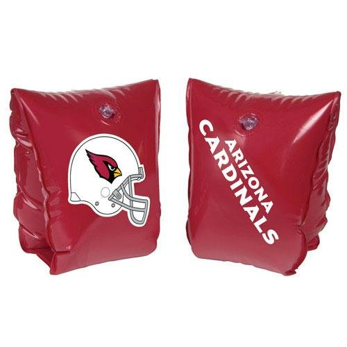 NFL Ages 3-6 Years Inflatable Water Wing NFL Team: Arizona Cardinals