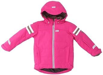 Helly Hansen - Chaqueta de esquí infantil, tamaño 6 años, color hot rosa
