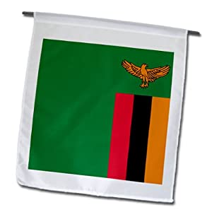 fl_31611_1 Flags - Zambia Flag - Flags - 12 x 18 inch Garden Flag