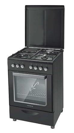 Rosieres RMC 6321 PNX cuisinière - fours et cuisinières (Autonome, Noir, Electrique, Combiné, 220 - 240 V, Convection, décongeler, Grill)