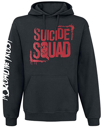 Suicide Squad Team - In Squad We Trust Felpa con cappuccio nero L