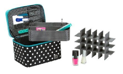caboodles-gilded-pleasure-nail-valet-with-white-polka-dots-black-236-pound-by-caboodles