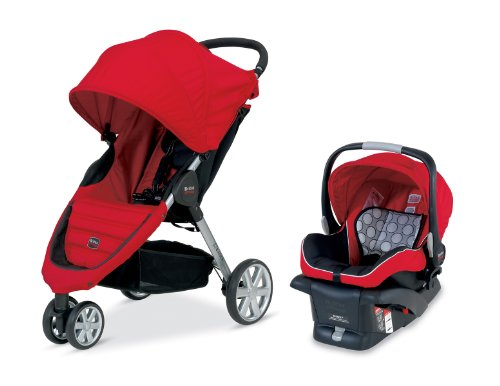 Purchase Britax B-Agile and B-Safe Travel System, Red