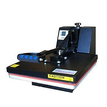 DG HEAT PRESS Digital Sublimation T-Shirt Heat Press,15-by-15-Inch - Black
