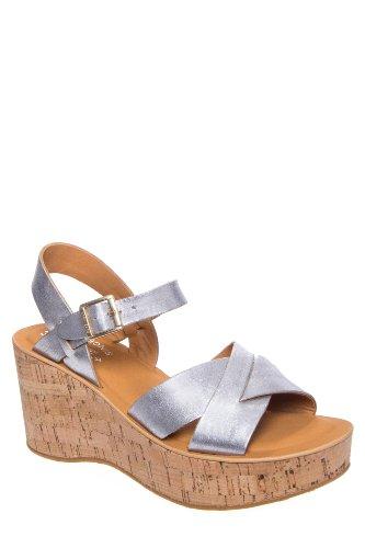 Kork-Ease Ava Mid Wedge Ankle Strap Sandal