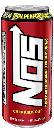 NOS High Performance Energy Drinks (Cherried Out) (Nos Energy Drinks compare prices)