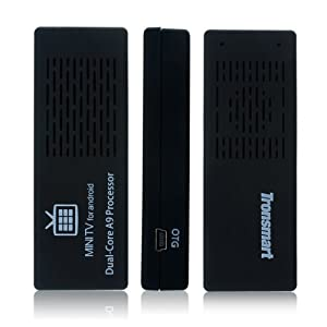 Brand New Tronsmart MK808 Dual Core Android 4.1.1 Jelly Bean TV BOX Rockchip RK3066 Cortex-A9 Mini PC Smart TV Stick