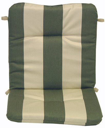 Regency Fern Stripe Sunbrella Acrylic Wrought Iron Chair Cushion - Buy Regency Fern Stripe Sunbrella Acrylic Wrought Iron Chair Cushion - Purchase Regency Fern Stripe Sunbrella Acrylic Wrought Iron Chair Cushion (Arden, Home & Garden,Categories,Patio Lawn & Garden,Patio Furniture,Cushions Covers & Pillows,Patio Furniture Cushions)