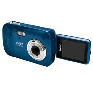 Vivitar ViviCam iTwist V7028 Digital Camera - Blueberry