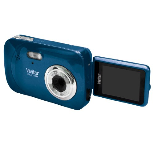 Vivitar ViviCam iTwist V7028 Digital Camera – Blueberry