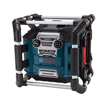 Factory-Reconditioned Bosch PB360S-RT Power Box Jobsite AM/FM Stereo with MP3 Compatibility