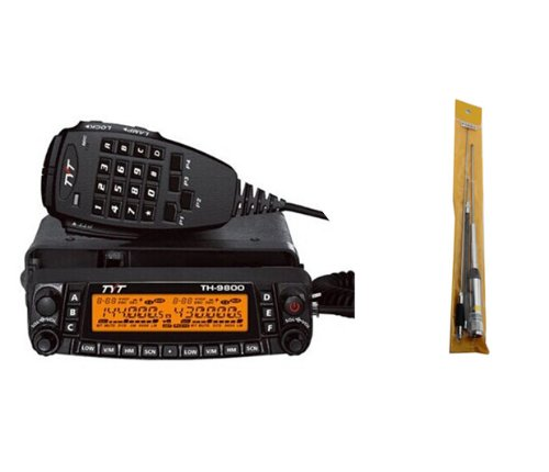 Tyt Quad Band Transceiver 10M/6M/2M/70Cm Vhf/Uhf Th-9800 Two Way And Amateur Radio With Hh9900 Antenna