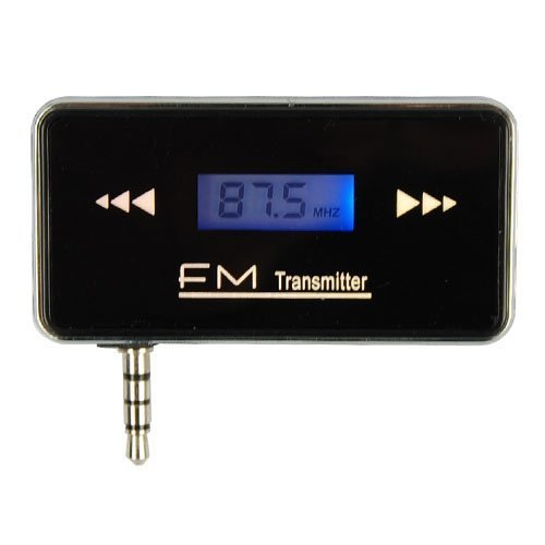 3.5mm Jack Stereo Radio Car FM Transmitter For