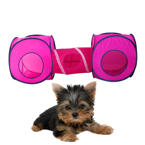 Vktech Kitten Cat Small Pet Dog Tent Toy Play