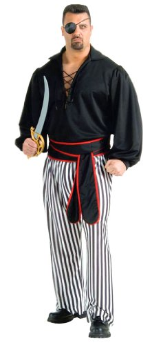 Plus Size Mens Buccaneer Costume