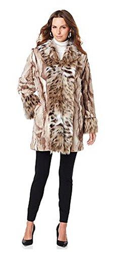 adrienne-landau-kimono-jacket-with-faux-fur-fox-trim-multi-taupe-spotted-lynxlarge