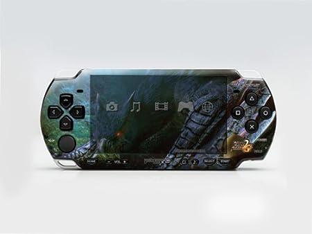 Monster Hunter 2 PSP (Slim) Dual Colored Skin Sticker, PSP 2000