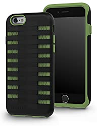 GADGEO iPhone 6 6S Tough Heavy Duty Shock Proof Defender Case Cover with Two Piece Protective Hard…