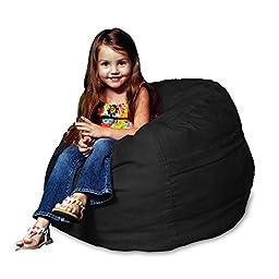 Chill Bag - Bean Bags Kids Bean Bag Chair, Black