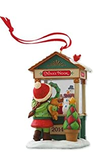 QXC5076 Christmas Window 12th 2014 Hallmark Keepsake Club Ornament