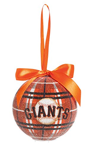 100Mm Led Ball Ornament, San Francisco Giants