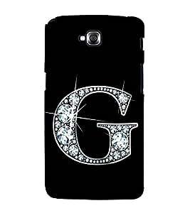 Alphabet G 3D Hard Polycarbonate Designer Back Case Cover for LG G Pro Lite :: LG Pro Lite D680 D682TR :: LG G Pro Lite Dual :: LG Pro Lite Dual D686