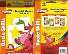 Playskool Colors and Shapes 36 Flash Cards - 1