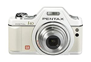 Pentax Optio I10 12.1 MP Digital Camera with 5x Wide Angle Optical Image Stabilized Zoom and 2.7-Inch LCD (Pearl White)