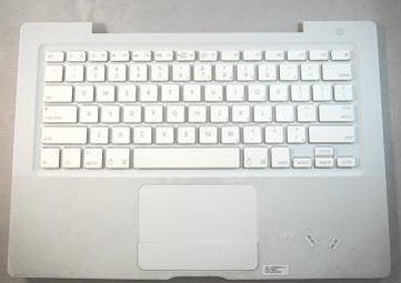 Apple Keyboard With Top Case Assembly For Select Macbook A1181 Laptops