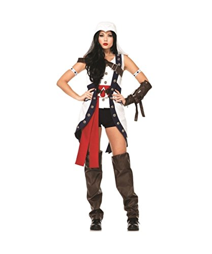 Leg Avenue Assassin's Creed Connor Women's Cosplay Costume