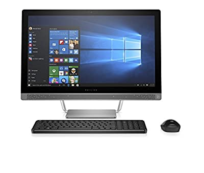 "HP Pavilion 24-b010 23.8"" All-In-One Desktop (AMD A9-9410, 8GB RAM, 1TB HDD, Windows 10 Home)"