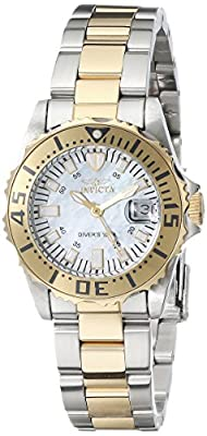 "Invicta Women's 17383SYB ""Pro Diver"" Stainless Steel and 18k Gold Ion-Plated Watch"
