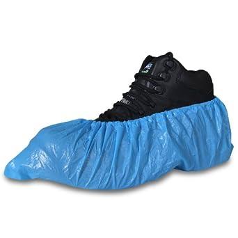 couvre chaussures jetables bleus pour pour chaussures et bottines protection des tapis. Black Bedroom Furniture Sets. Home Design Ideas