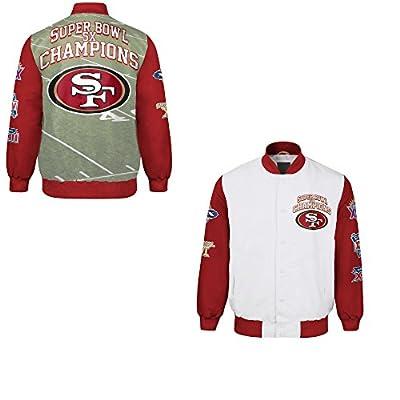 San Francisco 49ers Commemorative Trophy Champions Jacket