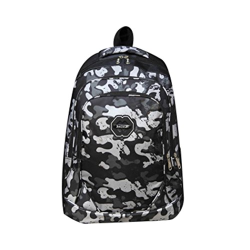 boysgirl-students-nylon-camouflage-backpack-waterproof-school-bag-black