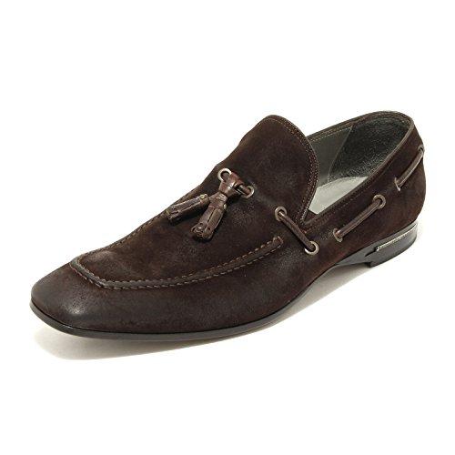 9028G mocassino uomo testa moro BARRACUDA scarpa scarpe loafer shoes men [43]