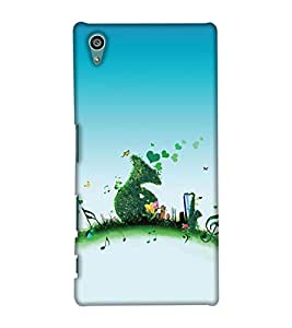 PrintHaat Designer Back Case Cover for Sony Xperia Z5 :: Sony Xperia Z5 Dual 23MP (music lover :: music is my life :: Musical design :: fun :: masti :: enjoyment :: party :: Melody design :: Music rock design :: happiness)