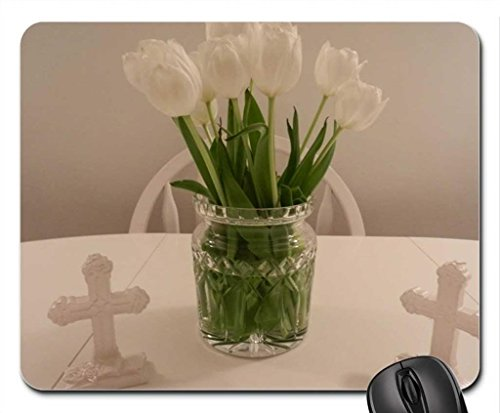 Baptism LIGHT Mouse Pad, Mousepad (Flowers Mouse Pad)