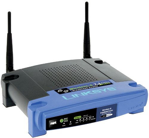 Cisco-Linksys WRT54GL Wireless-G Broadband Router