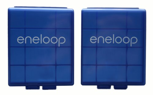 Sanyo 166704298/2S Battery Storage Cases - 2 Pack