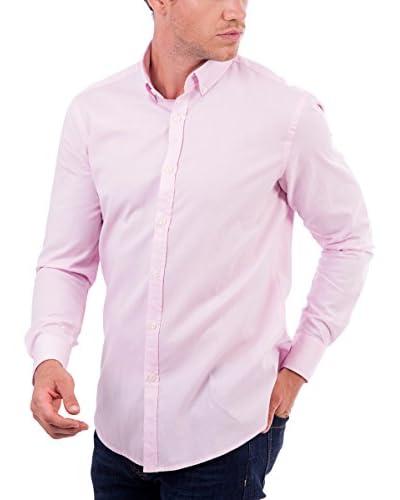 BLUE COAST YACHTING Camisa Hombre Rosa