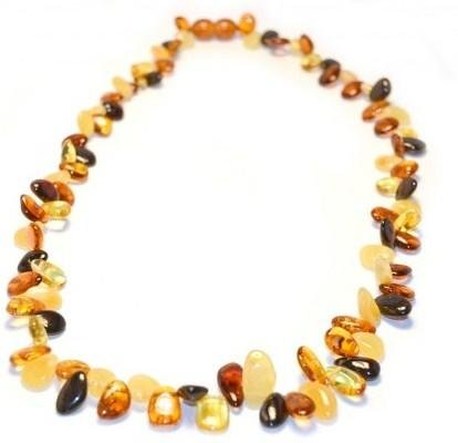 The Art of Cure Baltic Amber Necklace 19 Inch (multicolored) - Anti-inflammatory