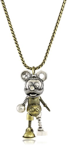 Disney Couture Junkyard Mickey Pendant Necklace