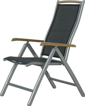 Gracie en acier inoxydable fauteuil-Rouge 2PC//1 carton