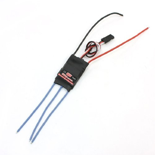 Water & Wood Bec Brushless Motor Speed Controller Esc 10A For Rc Glider Airplane