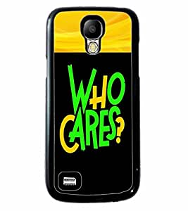 Printvisa 2D Printed Quotes Designer back case cover for Samsung S4 Mini - D4343
